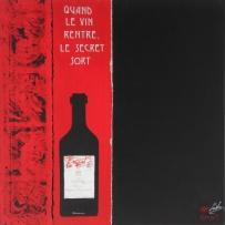 Le secret - LauWagon - 60 x 60 cm