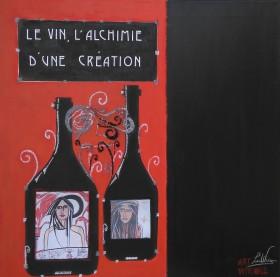 Alchimie - LauWagon - 60 x 60 cm