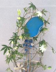 Fantaisie / LauWagon . Sculpture Végétale . Passiflore