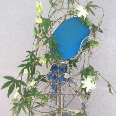 Fantaisie / LauWagon . Sculpture Végétale . Passiflore . 500€