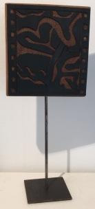 Océan / LauWagon . Sculpture . H 33 cm